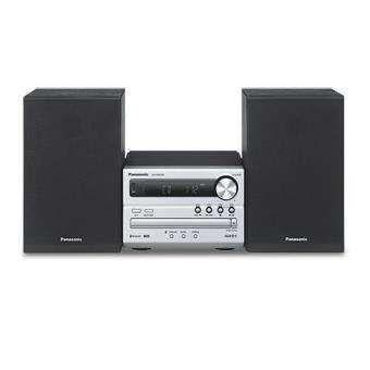 Sistema Micro Panasonic SC-PM250EC-S Bluetooth Prateado