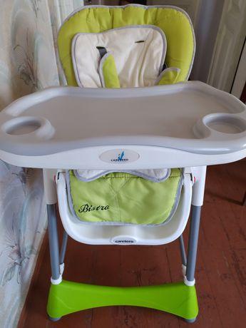 Стульчик для кормления Caretero Bistro green