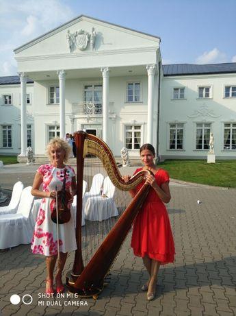 Skrzypce - Skrzypaczka / Harfa & Skrzypce - oprawa muzyczna Ślubu