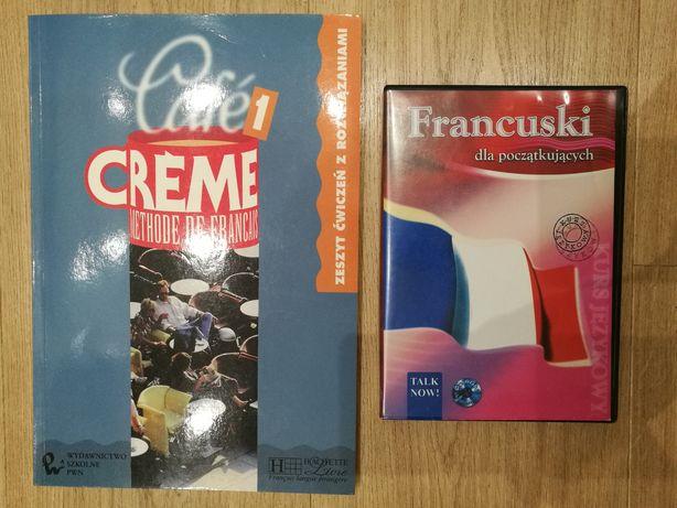 Cafe Creme 1 Zeszyt ćwiczeń + Gratis: Francuski dla początkujących