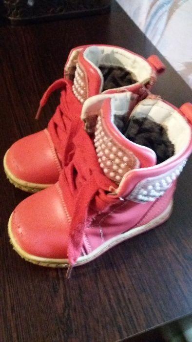 Продам ботиночки на девочку. Луганск - изображение 1