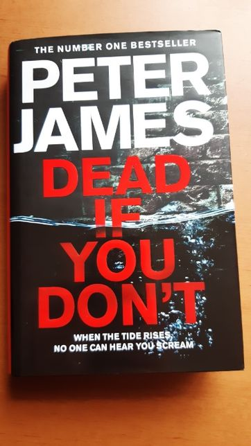 Peter James, Dead if you don't книга англійською English на английском