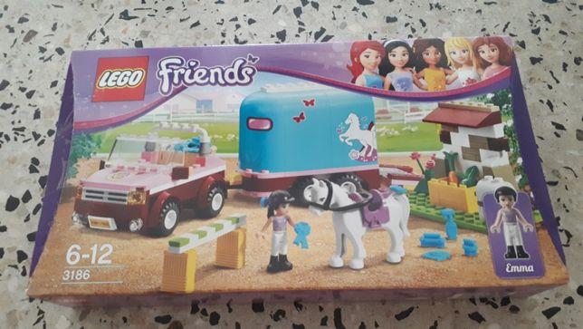 Lego Friends Przyczepa dla konia Emmy 3186