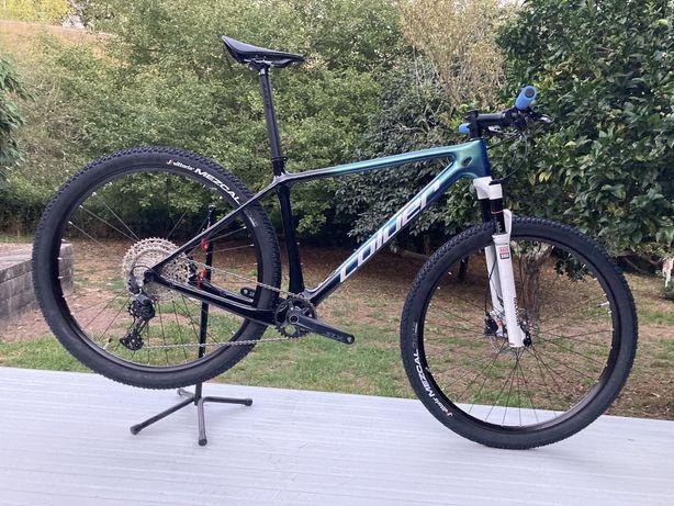 Bicicleta btt carbono roda 29 Nova coluer poison 3.1