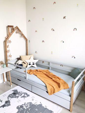 В НАЛИЧИИ Дубовая кровать домик,детская кровать,ліжко будинок 160*80