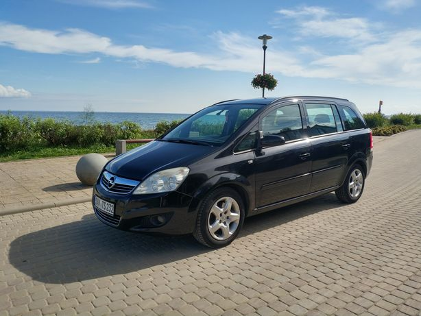 Opel Zafira B Lift 2008 1.9 CDTI 120Km Czarny