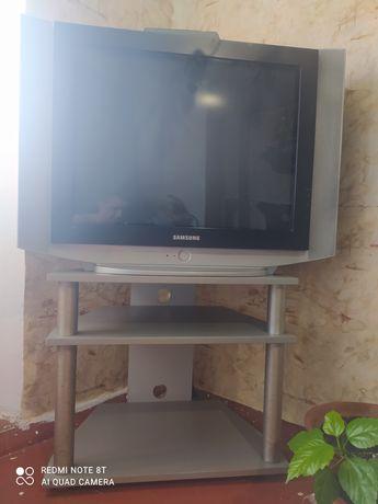 Телевизор самсунг + тумба