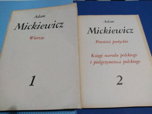 Adam Mickiewicz Wiersze Powieści Poetyckie