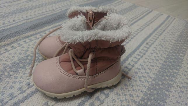 Зимові чобітки для дівчинки стан практично ідеал