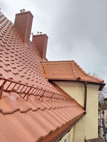 Dachy, pokrycia dachowe, dachówka blachodachówka sprzedaż i montaż
