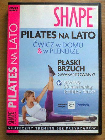 Ćwiczenia odchudzające DVD SHAPE Pilates na lato ćwicz w domu i plene