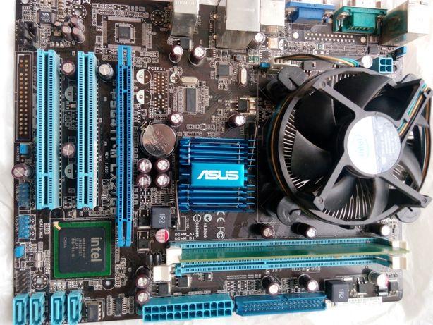 Продам Комплект Asus P5G41T-M LE s775   Intel® Pentium E6700   1Gb DDR