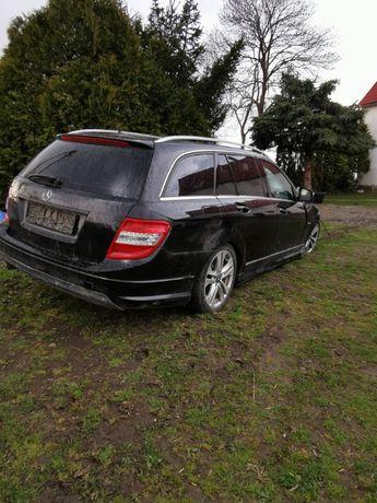 Mercedes-Benz C 2.2 170km w204 + 2008r+,Navi,Pakiet AMG, USZKODZONY
