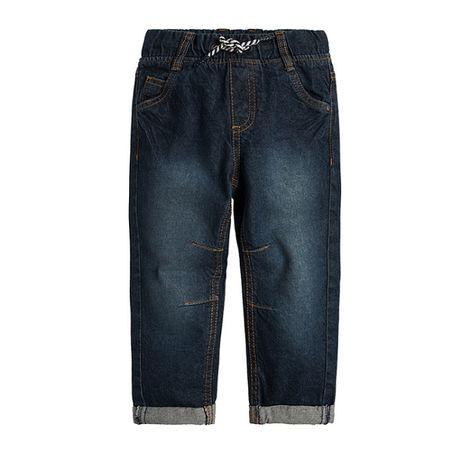 Spodnie chłopięce dżinsy 140 Smyk