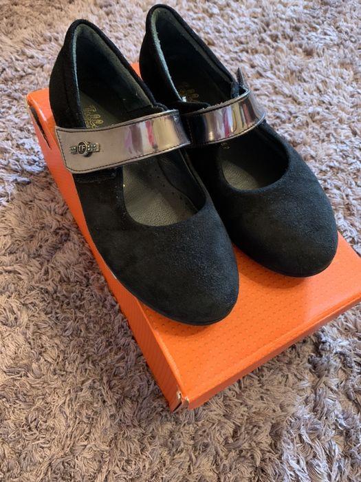 Туфли замшевые Tiflani 31 размер Степная - изображение 1