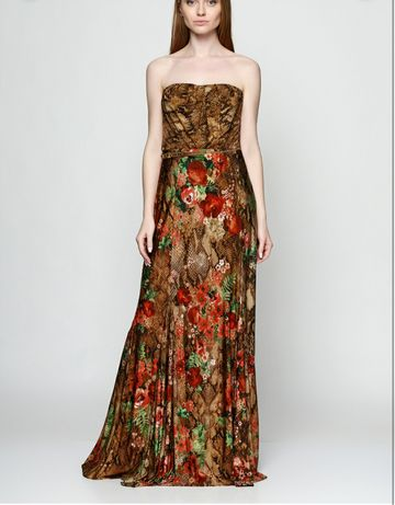 Платье макси Mango