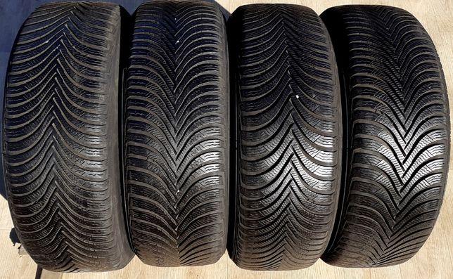 4шт 7,5мм 215/60/16 Michelin Alpin A5 б у R15 Шини зимові покришки