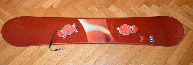 deska snowboardowa NITRO Tornado Storm 5.8 156 cm z wiązaniami SWITCH