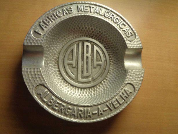 Cinzeiro Alba Aluminio Fundido Antiga Fábrica Alba