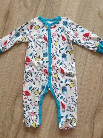 Śpioszki śpiochy pajac piżama piżamka nowe r.68
