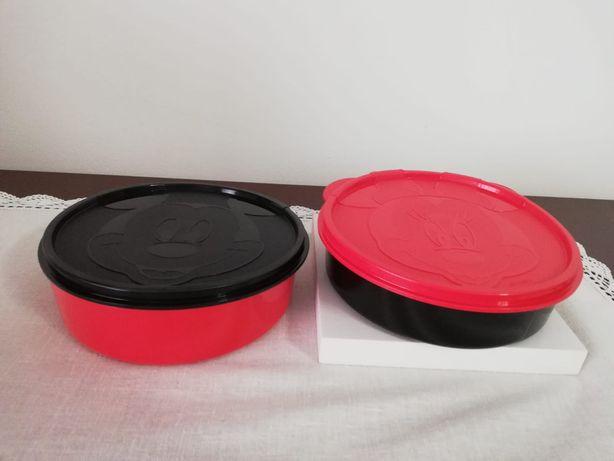 Caixas Mickey Tupperware