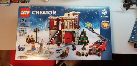 Lego Creator 10263 Remiza strażacka w zimowej wiosce