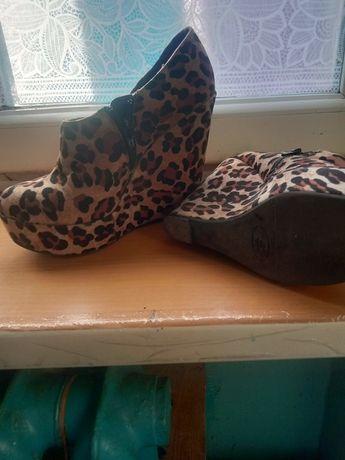 Стильные ботиночки 39 размер.