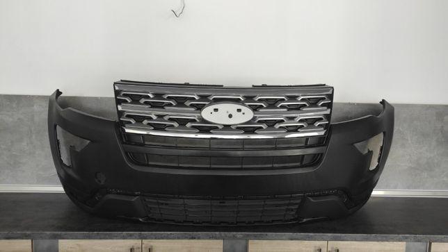 Ford EXPLORER 2018 2019 2020 бампер передний