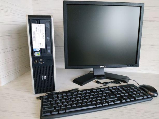 """Компьютер /ПК / Системный блок /C2D 1.9 GHz / ОЗУ 2ГБ + Монитор 19"""""""
