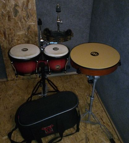 instrumenty perkusyjne Meinl zestaw z hardware