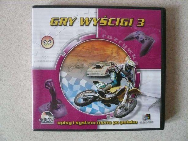 Gry Wyścigi 3, płyta CD.