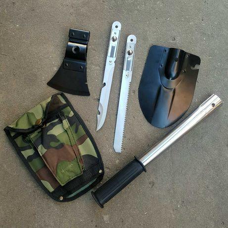 Туристический набор 4 в 1 (лопата/нож/пила/топор)