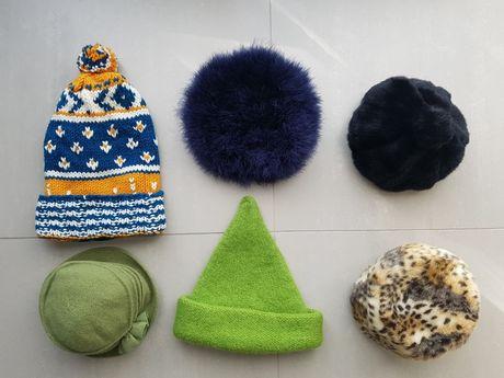 Zestaw stylowych,  oryginalnych czapek, sesje