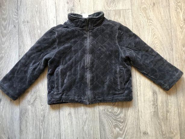 Куртка велюровая демисезонная