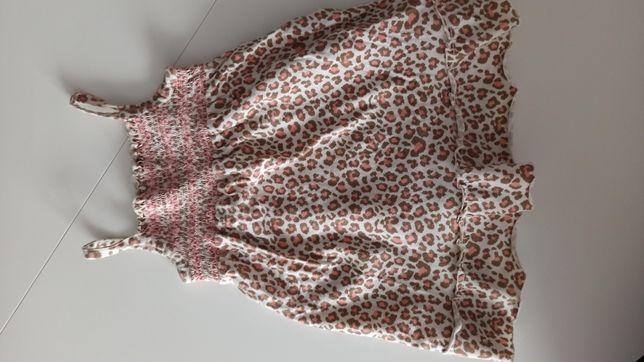 Sukienka letnia F&F roz 80