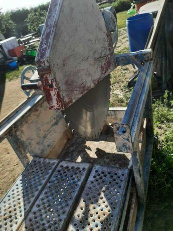 Przecinarka stołowa fabryczna 7.5kw do kamienia pustaków drewna płyt