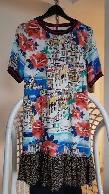 Sukienka na podszewce OUI 38