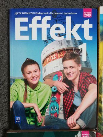 Język niemiecki Effekt 1 Podręcznik dla liceum i technikum