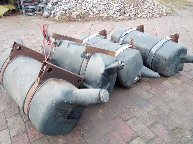 Zbiorniki paliwa do naczepy chłodni . Zbiornik