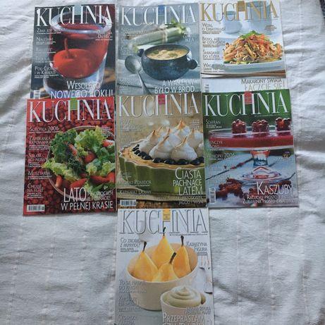 Magazyn Kuchnia 7 numerów z 2006 roku