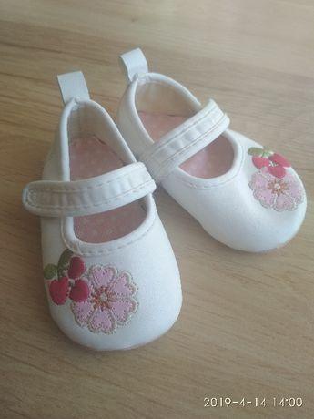 Butki - balerinki dla dziewczynki, 0-6 miesięcy