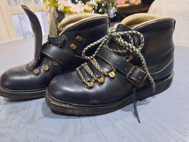 KRISTIANIA buty narciarskie wodoodporne skóra rozm. 41