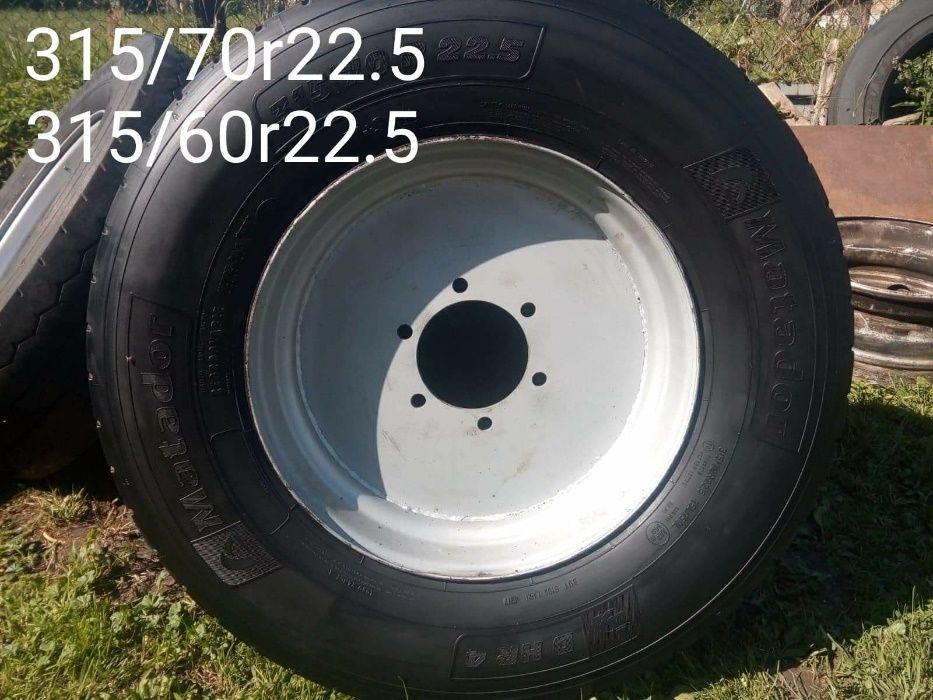 Koła do przyczepy rolniczej R 22,5 Łapy - image 1