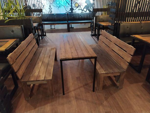 Продам садовую мебель стол и две лавочки