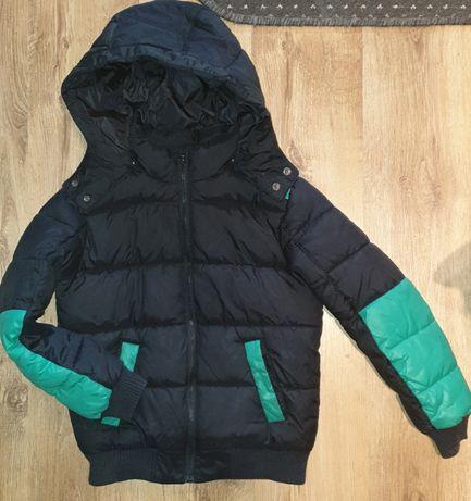 Benetton kurtka puchowa zimowa dla chłopca r. XL 150
