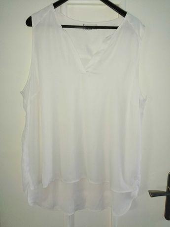 Biała bluzka w rozmiarze 48