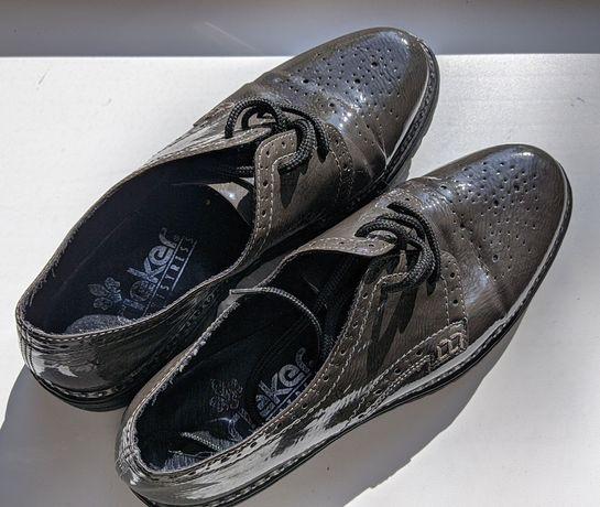 Туфли оксфорды, женские, натуральная кожа, 39 размер