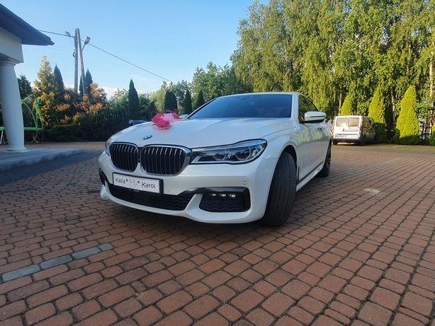 BMW 7 Model G11 Limuzyna Biała Perła Do Ślubu Piękna !!!