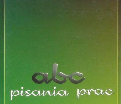 ABCpisania,Książka-Pisanie tekstów-Prace Eseje Rozprawki liceum/studia