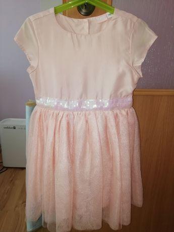 Sukienka Lupilu z cekinowym paskiem 110 /116